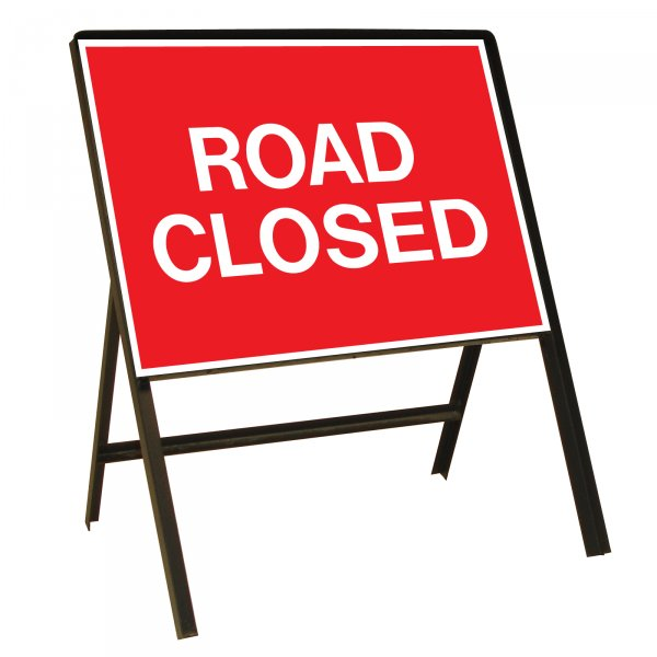 Image result for road closure signs